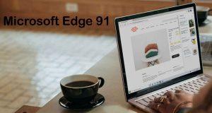 Navigateur Microsoft Edge 91