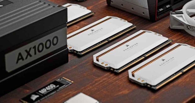 Module mémoire DDR Dominator de Corsair