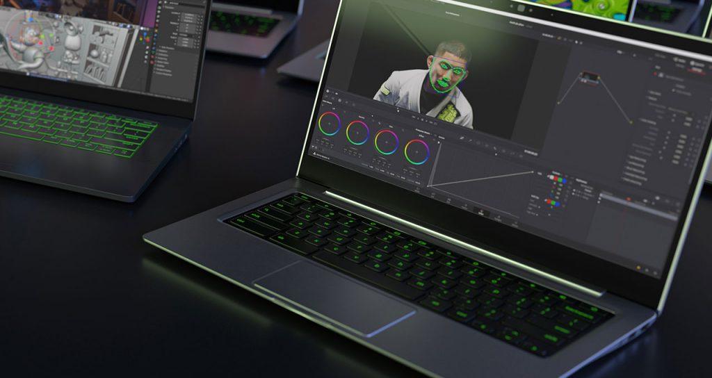 Ordinateur portable Studio de Nvidia