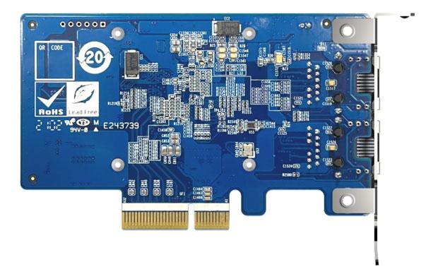 Carte fille réseau QXG-10G2T-X710 de QNAP