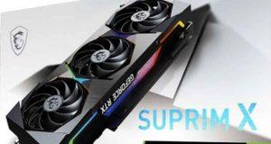 GeForce RTX 3070 Ti SUPRIM X