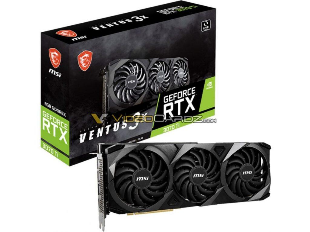 GeForce RTX 3070 Ti Ventus 3X