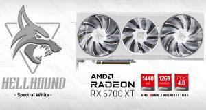 Radeon RX 6700 XT HellHound Sprectral White