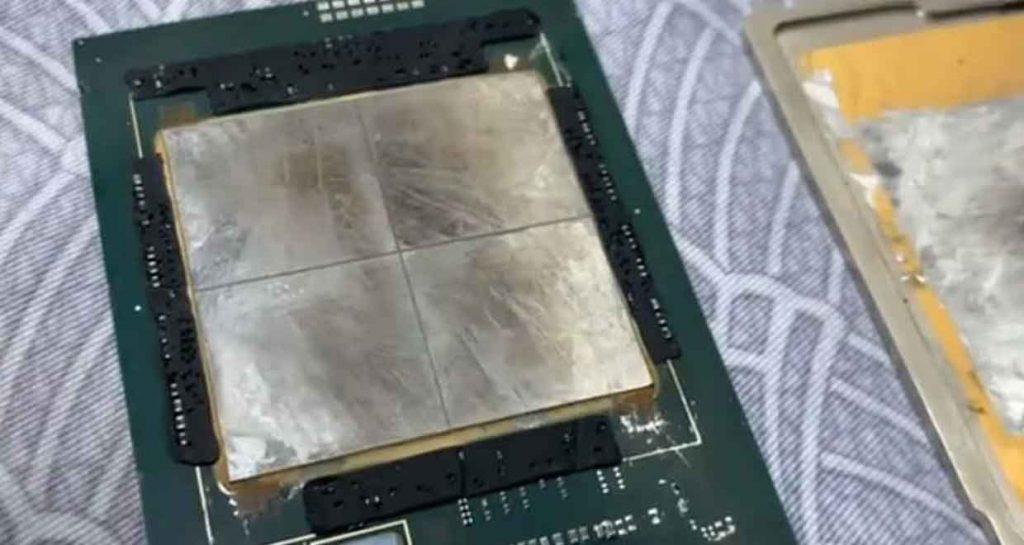 Intel Xeon Sapphire Rapids processor from manufacturer Intel (Rumor)