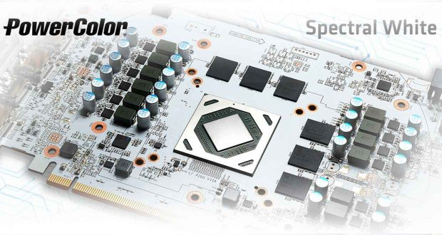 Hellhound Radeon RX 6700XT Sprectral White de PowerColor