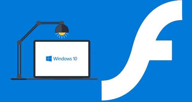 Windows 10 et Flash Player (Adobe)