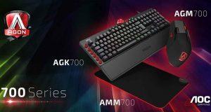 Clavier AGON AGK700 et souris AGON AGM700