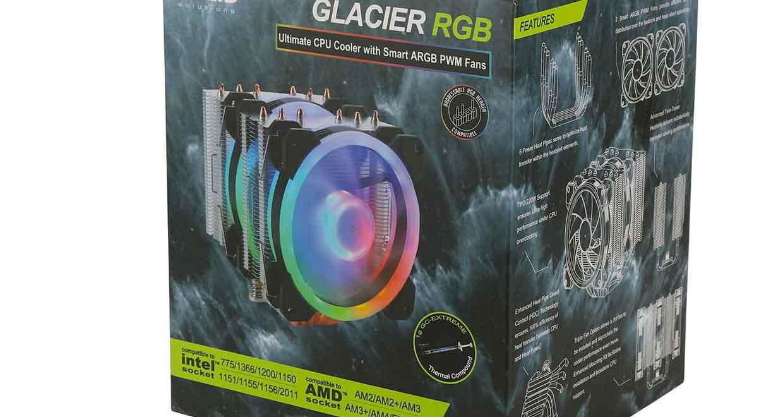 Ventirad Glacier RGB de Gelid