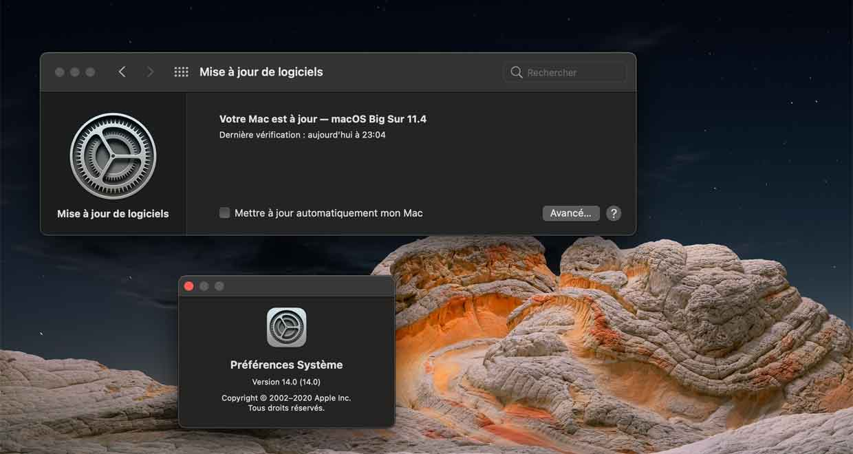macOS 11.4 d'Apple