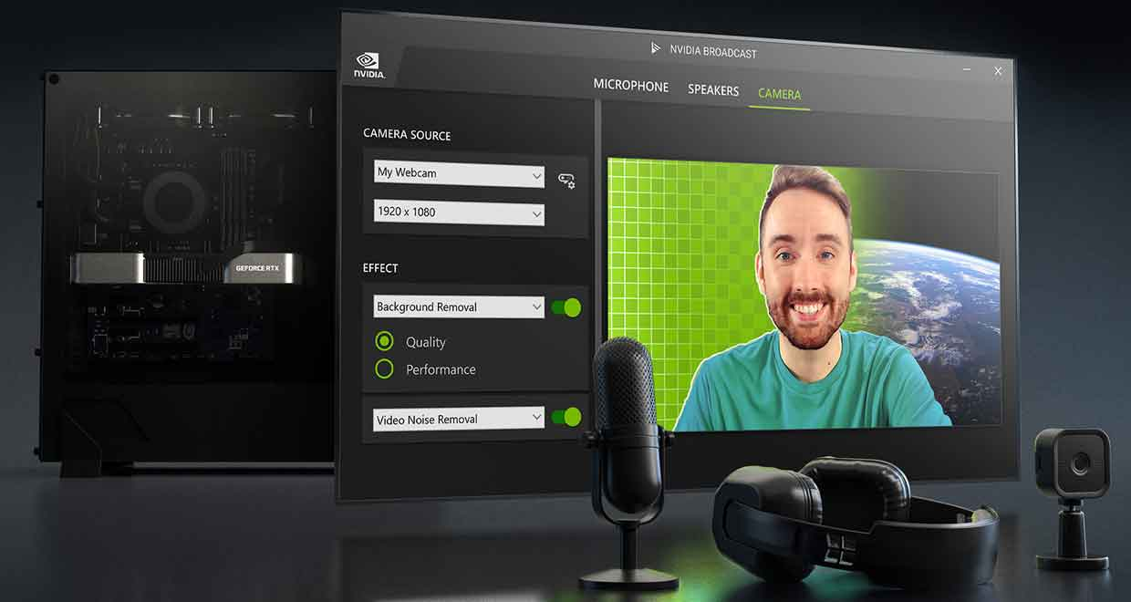 Logiciel de streaming BROADCAST de Nvidia