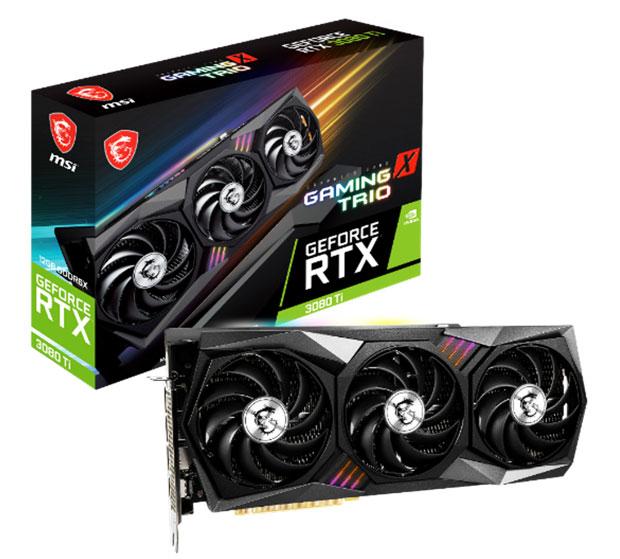 GeForce RTX 3080 Ti Gaming Trio de MSI
