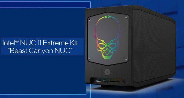 Mini-PC NUC 11 Extreme 'Beast Canyon' d'Intel