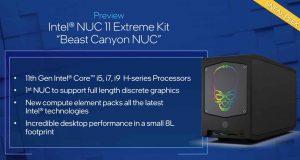 """NUC 11 Extreme """"Beast Canyon"""""""