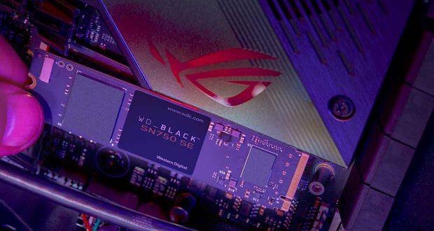 WD_BLACK SN750 SE NVMe SSD