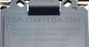 Protection pour les sockets LGA 17xx et LGA 18xx