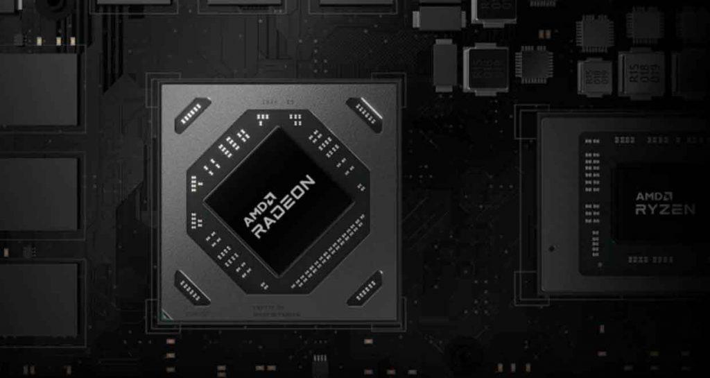 GPU Radeon RX 6000M series d'AMD