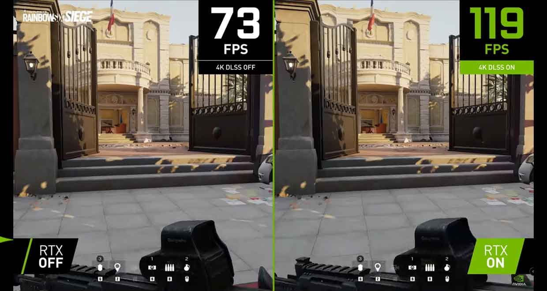 Rainbow Six Siege supporte la technologie DLSS