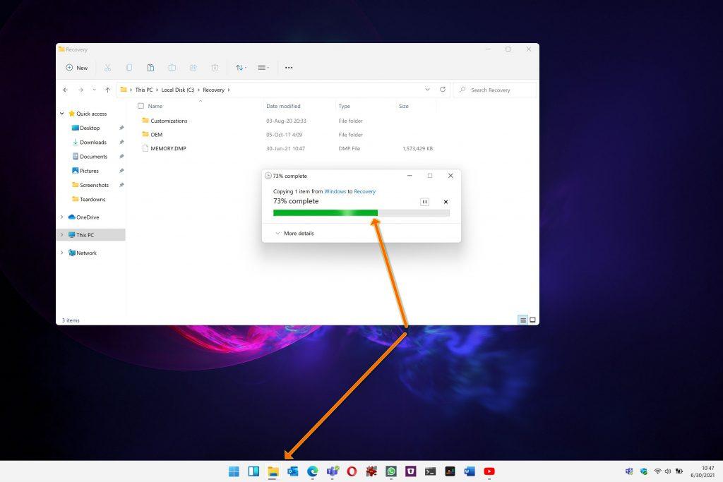 Converte i file in Windows 11