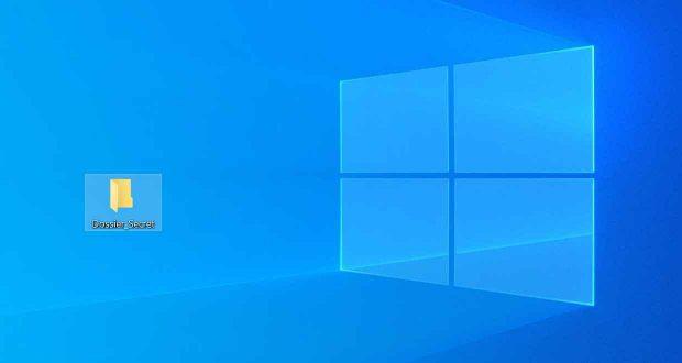 Windows 10 et les icônes du bureau