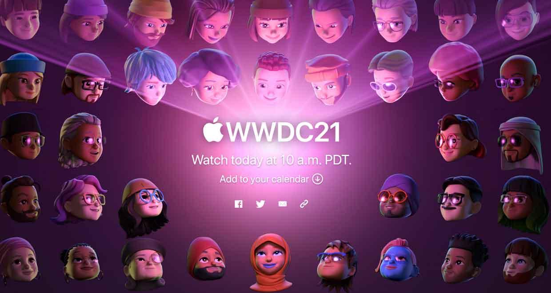 La WWDC 2021 d'Apple