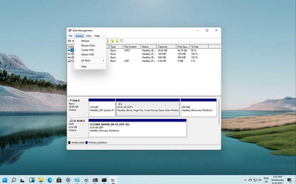 Windows 11 et le gestionnaire des disques