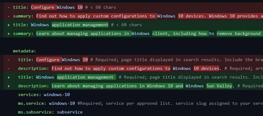 Microsoft évoque Windows Sun Valley et Windows 10