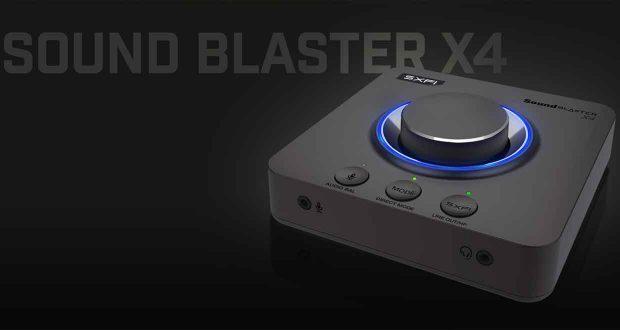 Sound Blaster X4