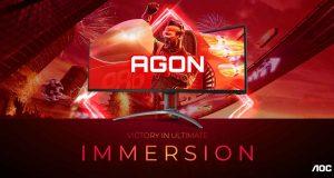 Moniteur gaming AGON AG493UCX2 d'AOC