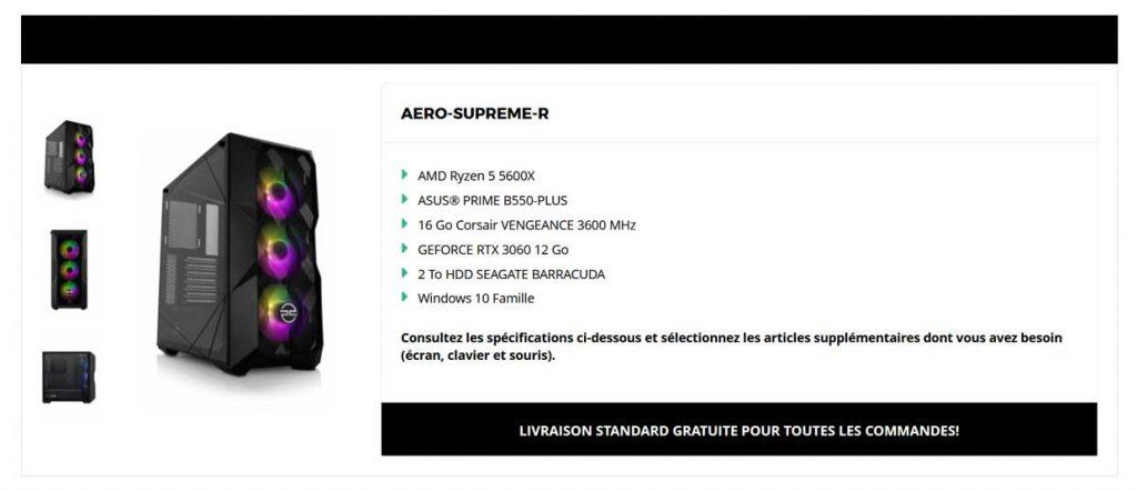 Ordinateur Aero Supreme R