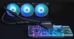 Watercooling AIO Alphacool Eiswolf 2 pour carte graphique GeForce RTX 3080 et 3090