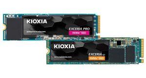 SSD Exceria Pro et Exceria G2