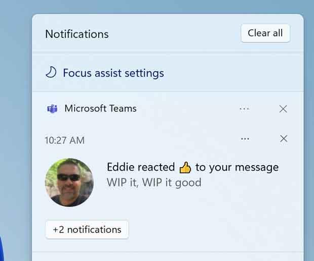 Windows 11 e Centro de Notificação