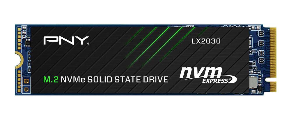 SSD M.2 NVMe PCIe 3.0 x4 LX2030 de PNY