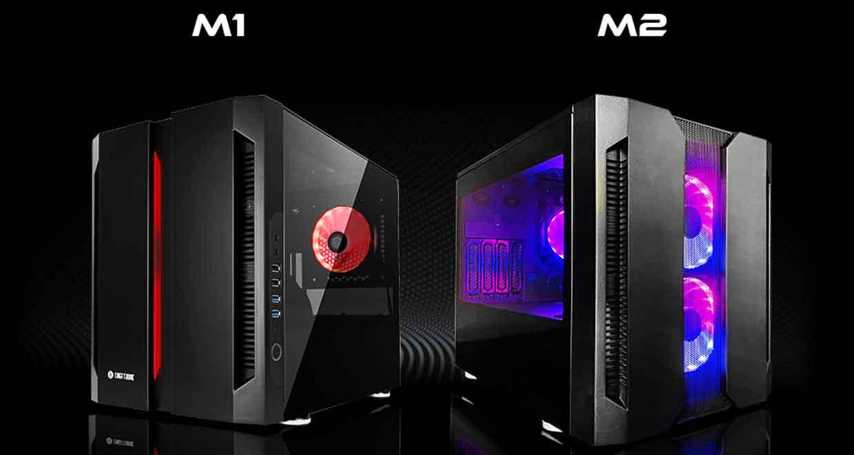 Boitiers cube M2 et M1 de Chieftronic