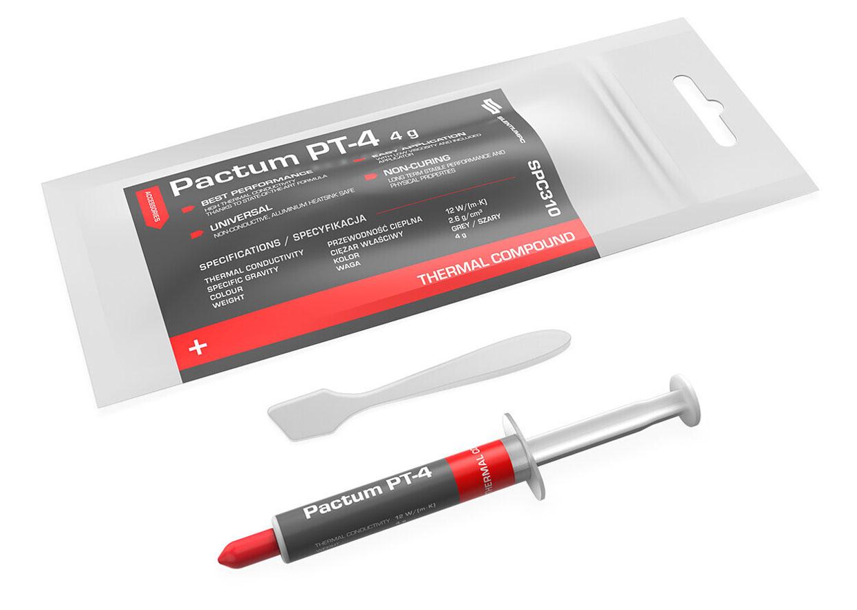 Pâte Thermique Pactum PT-4 de SilentiumPC - Seringue de 4 gr