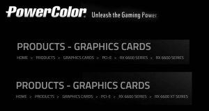 PowerColor et ses Radeon RX 6600 XT et 6600 series