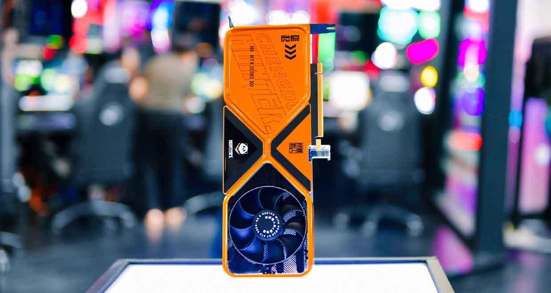 "GeForce RTX 3080 - ""Chengdu Hunter"""