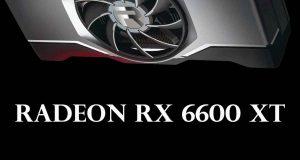 Radeon RX 6600 XT d'AMD