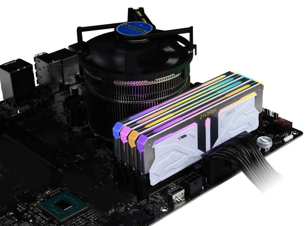 Mémoire DDR5 SPARK de Zadak