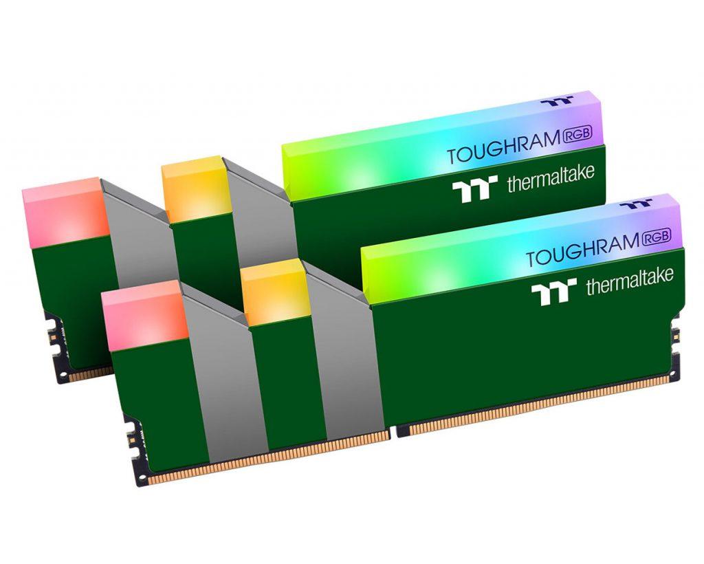 Mémoire TOUGHRAM RGB Racing Green