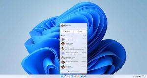 Windows 11 et l'application Teams Chat