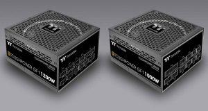 Alimentations Thermaltake ToughPower GF1 de 1000 et 1200W (80Plus Gold)
