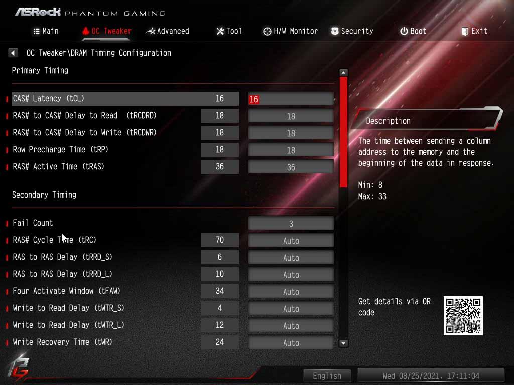 Carte mère ASRock X570S PG Riptide - BIOS