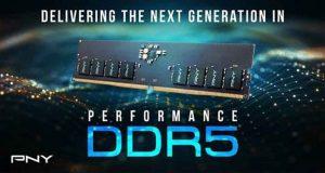 DDR5 XLR8 Gaming de PNY