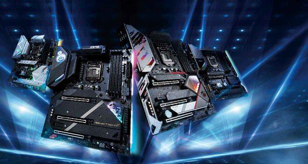 Cartes mères Intel 500 series d'ASRock.