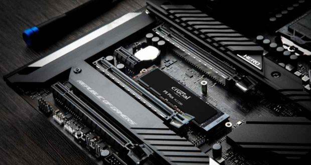 SSD NVMe M.2 2280 P5 Plus de Crucial