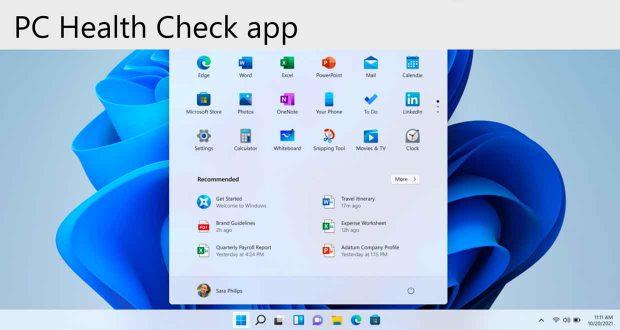 Windows 11, utilitaire PC Health Check