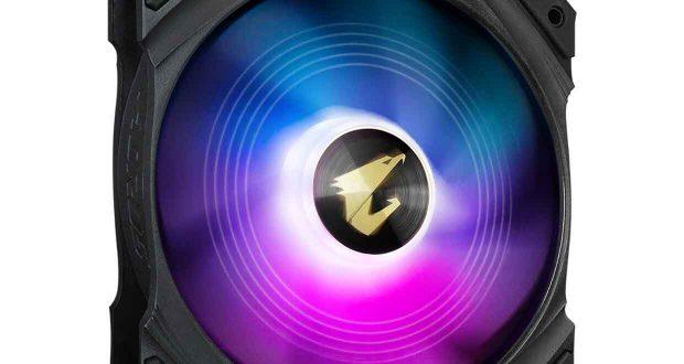 Ventilateur 140 mm PWM Aorus aRGB Fan GP-AR140RFAN
