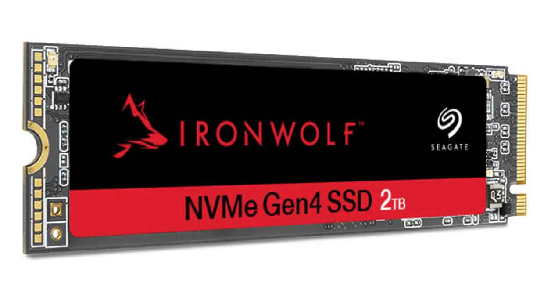 SSD NVMe 2280 IronWolf 525 de Seagate