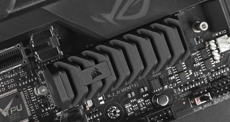 SSD M.2 NVMe MP600 PRO XT de Corsair